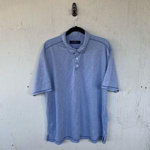 Tommy Bahama Blue Short Sleeve Polo Shirt